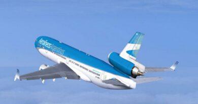 Aerolíneas Argentinas es la empresa aérea que transporta a los clubes de la Libertadores y Sudamericana