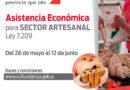 Apoyo económico para el sector artesanal
